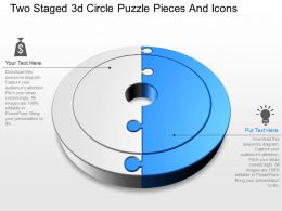37171659 Style Puzzles Circular 2 Piece Powerpoint Presentation Diagram Infographic Slide