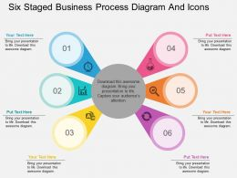 lu_six_staged_business_process_diagram_and_icons_flat_powerpoint_design_Slide01