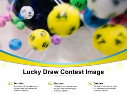 Lucky Draw Contest Image