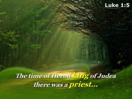 Luke 1 5 The time of Herod king PowerPoint Church Sermon