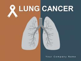 Lung Cancer Awareness Indicating Illustrating Indicating