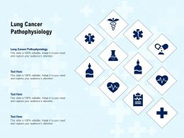 Lung Cancer Pathophysiology Ppt Powerpoint Presentation Pictures Visual Aids