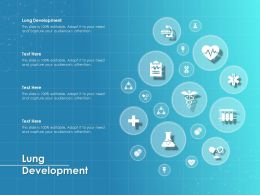Lung Development Ppt Powerpoint Presentation Ideas Design Inspiration