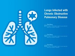 Lungs Infected With Chronic Obstructive Pulmonary Disease