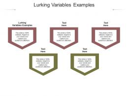 Lurking Variables Examples Ppt Powerpoint Presentation Professional Good Cpb