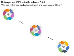 32483594 Style Puzzles Circular 6 Piece Powerpoint Presentation Diagram Infographic Slide