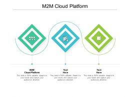 M2M Cloud Platform Ppt Powerpoint Presentation Visual Aids Example 2015 Cpb