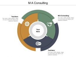 M A Consulting Ppt Powerpoint Presentation Ideas Layouts Cpb