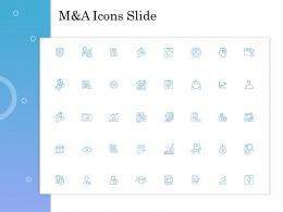M And A Icons Slide L1029 Ppt Powerpoint Presentation Image