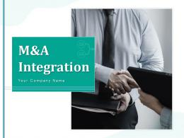 M And A Integration Successful Strategy Corporations Process Management Marketing