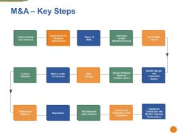 M And A Key Steps Ppt Pictures Portrait