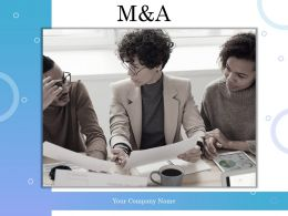 M And A Powerpoint Presentation Slides