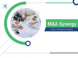 M And A Synergy Powerpoint Presentation Slides