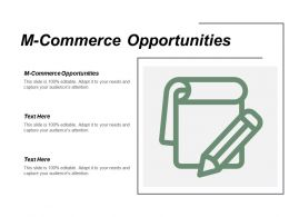 M Commerce Opportunities Ppt Powerpoint Presentation Infographic Template Example Topics Cpb