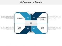 M Commerce Trends Ppt Powerpoint Presentation Slides Skills Cpb