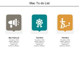 Mac To do List Ppt Powerpoint Presentation File Designs Download Cpb