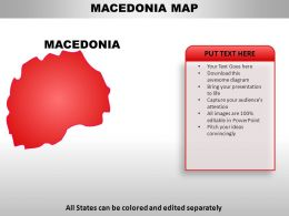 Macedonia Country PowerPoint Maps
