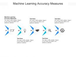 Machine Learning Accuracy Measures Ppt Powerpoint Presentation Inspiration Microsoft Cpb