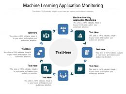Machine Learning Application Monitoring Ppt Powerpoint Presentation Portfolio Introduction Cpb