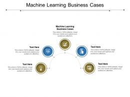 Machine Learning Business Cases Ppt Powerpoint Presentation Styles Format Cpb