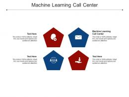 Machine Learning Call Center Ppt Powerpoint Presentation Styles Inspiration Cpb