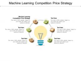 Machine Learning Competition Price Strategy Ppt Powerpoint Presentation Pictures Objects Cpb