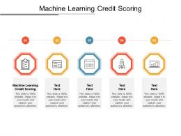 Machine Learning Credit Scoring Ppt Powerpoint Presentation File Elements Cpb