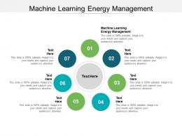 Machine Learning Energy Management Ppt Powerpoint Presentation Inspiration Designs Cpb
