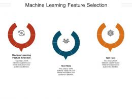 Machine Learning Feature Selection Ppt Powerpoint Presentation Ideas Good Cpb