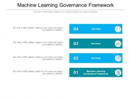 Machine Learning Governance Framework Ppt Powerpoint Presentation Professional Cpb