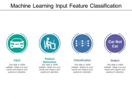 Machine Learning Input Feature Classification