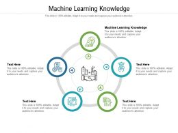 Machine Learning Knowledge Ppt Powerpoint Presentation Ideas Deck Cpb