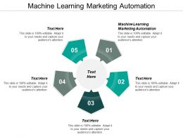 Machine Learning Marketing Automation Ppt Powerpoint Presentation Styles Graphics Example Cpb