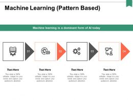 Machine Learning Pattern Based Ppt Powerpoint Presentation Professional Diagrams