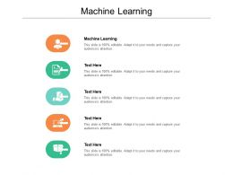Machine Learning Ppt Powerpoint Presentation File Sample Cpb