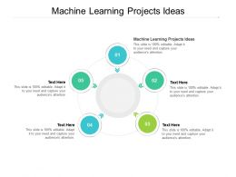 Machine Learning Projects Ideas Ppt Powerpoint Presentation Icon Samples Cpb