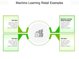 Machine Learning Retail Examples Ppt Powerpoint Presentation Slides Guide Cpb