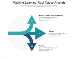 Machine Learning Root Cause Analysis Ppt Powerpoint Presentation Styles File Formats Cpb