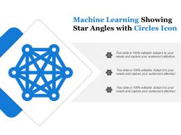 Machine Learning Showing Star Angles With Circles Icon