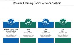 Machine Learning Social Network Analysis Ppt Powerpoint Presentation Outline Guide Cpb