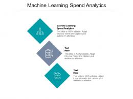 Machine Learning Spend Analytics Ppt Powerpoint Presentation Gallery Outline