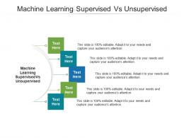 Machine Learning Supervised Vs Unsupervised Ppt Powerpoint Presentation Professional Cpb