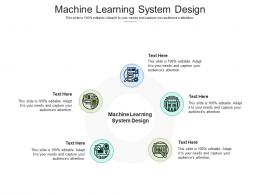Machine Learning System Design Ppt Powerpoint Presentation Guide Cpb