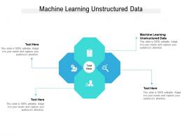 Machine Learning Unstructured Data Ppt Powerpoint Presentation Layouts Slide Cpb
