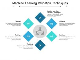 Machine Learning Validation Techniques Ppt Powerpoint Presentation Icon Visual Aids Cpb