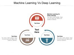 Machine Learning Vs Deep Learning Ppt Powerpoint Presentation Portfolio Ideas Cpb