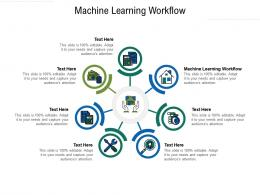 Machine Learning Workflow Ppt Powerpoint Presentation Icon Graphics Download Cpb