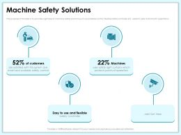 Machine Safety Solutions Points Ppt Powerpoint Presentation Model Templates