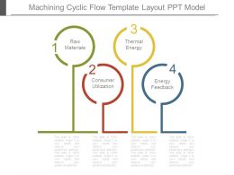 Machining Cyclic Flow Template Layout Ppt Model