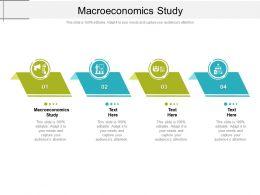 Macroeconomics Study Ppt Powerpoint Presentation Infographics Slides Cpb